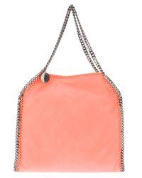 Stella McCartney | Pink Falabella Mini Faux-suede Cross-body Bag | Lyst