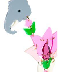 Tatty Devine - Multicolor Lotus Flower Celebration Necklace - Lyst