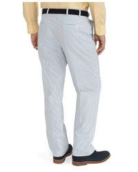 Brooks Brothers Blue Seersucker Fitzgerald Fit Suit for men