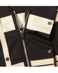 Rick Owens | Black High Neck Suede Jacket for Men | Lyst