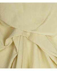 AllSaints Yellow Jodelle Dress