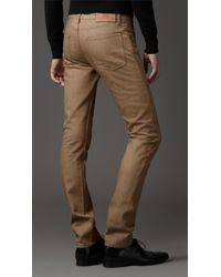 Burberry | Brown Shoreditch Skinny Fit Jeans for Men | Lyst