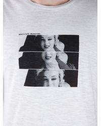 Dolce & Gabbana White Marilyn Monroe T-shirt for men