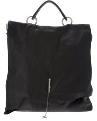 Lost & Found Black Pin Front Bag for men