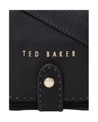 Ted Baker | Black Hickory Small Crossbody Bag | Lyst