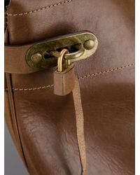 Visvim Brown Tote Bag for men