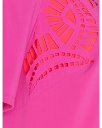 Alice By Temperley Pink Mini Diaghilev Dress