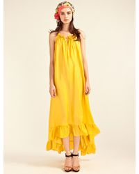 Alice By Temperley Yellow Allegro Parachute Dress