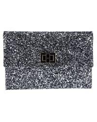 Anya Hindmarch   Metallic Valorie Glitter Clutch   Lyst
