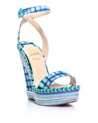 christian louboutin fake shoes online - christian louboutin duplice tie-dye sandals, red spiked louboutins