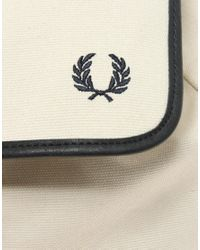 Fred Perry - Natural Cotton Backpack - Lyst