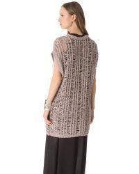 J Brand | Pink Greta Sweater | Lyst
