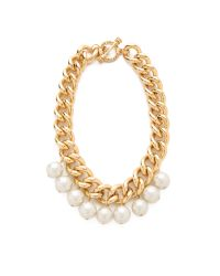Juicy Couture - Metallic Chunky Chain Necklace - Lyst