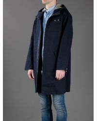 Acne Studios Blue Deniro Oversized Jacket for men