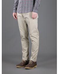 Dolce & Gabbana Natural High-waisted Trouser for men