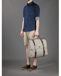 Dolce & Gabbana Gray Sicily Weekender Bag for men