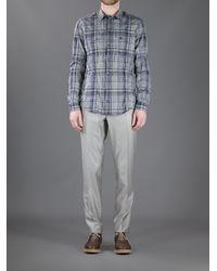 Dolce & Gabbana Gray Tapered Tailored Trouser for men