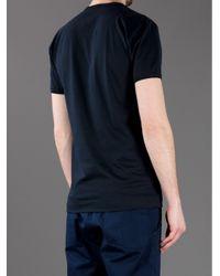 Dolce & Gabbana Blue Logo T-shirt for men