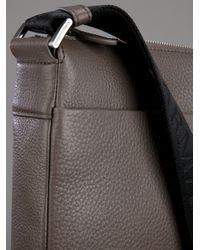 Emporio Armani Brown Shoulder Bag for men