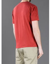 Gucci Red Printed T-shirt for men