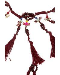 Isabel Marant | Metallic Cy Amp You Tasseled Necklace | Lyst