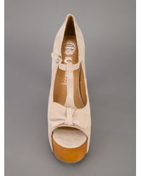 Jeffrey Campbell Natural Foxy Luanne Shoe