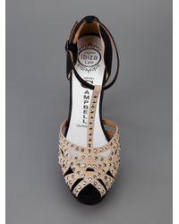 Jeffrey Campbell Black Juliet Studded Sandal