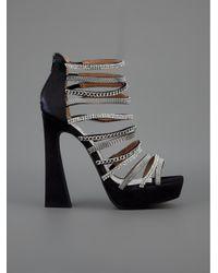 Jeffrey Campbell Black Shakira Shoe