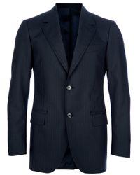 Lanvin   Blue Classic Suit for Men   Lyst