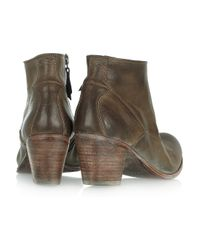 NDC Brown Suede Ankle Boots