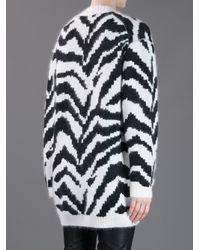 By Malene Birger White Oversize Cardigan