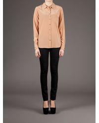 Equipment Orange Classic Button Down Shirt