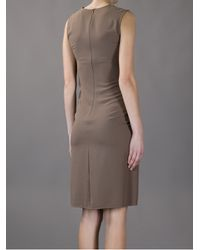 Hotel Particulier Natural Fitted Kneelength Dress