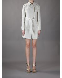 Hotel Particulier Gray Belted Coat