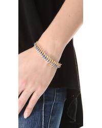 Lizzie Fortunato - Blue Scale Bracelet - Lyst