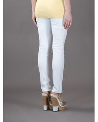 Love Moschino White Skinny Jean