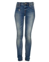 Ralph Lauren Blue Skinny Jean