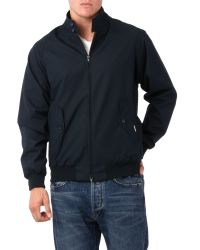 Baracuta Blue G9 Harrington Jacket for men