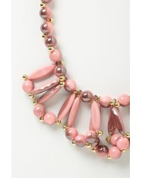 Anthropologie | Pink Color Loop Bib | Lyst