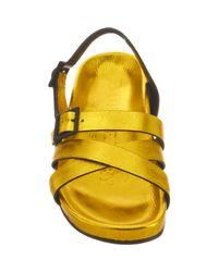 Burberry Metallic Bellgreen Sandal for men
