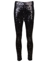 By Malene Birger Black Sequin Pant