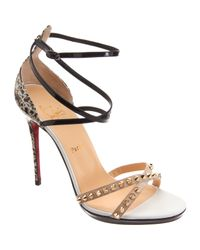 Christian Louboutin Multicolor Strappy Sandals