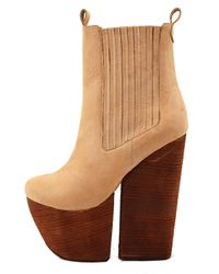 Jeffrey Campbell Natural Wolf in Nude