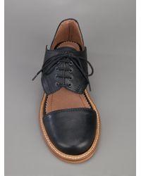 Minimarket Black Cutout Shoes