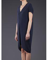 MM6 by Maison Martin Margiela Blue Pique Dress