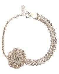 Wouters & Hendrix | Metallic Knot Bracelet | Lyst