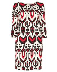 Alice By Temperley Red Mini Sovereign Ponte Dress