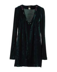Miss Sixty | Green Short Dresses | Lyst