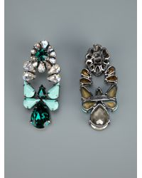 Shourouk | Metallic Mia Earrings | Lyst
