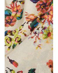 TOPSHOP Multicolor Tapestry Print Cami